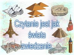 Dołączamy do akcji plakatowej. Kids And Parenting, Motto, Education, Reading, School, Books, Projects, Libros, Book