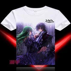 Code Geass Short Sleeve Anime T-Shirt - OtakuForest.com