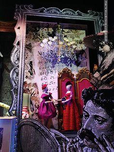 Рождественские витрины (Lord & Taylor) » Витринистика.Ру | Оформление витрин магазинов