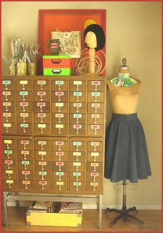 Tricia Royal (Bits and Bobbins)'s card catalog for crafts