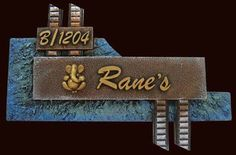Ranes name plate