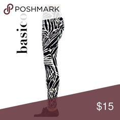 ✨LuLaRoe✨style leggings basico ▫️zebra print OR zigzag print leggings 822c7ca3f78