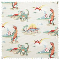 Dinosaur Cotton Duck- Cath Kidston  Fabric for my DIY notice board
