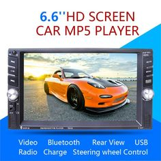 7651 2 DIN Car Multimedia Player General Bluetooth Radio Reversing One-piece With Camera Car Stereo Audio MP5 Player