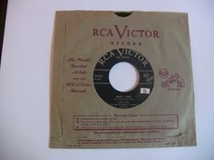 Vintage Single 45 Record Eddie Fisher Many Times RCA Victor Records 47-5453 1950s Music #BigBandSwing