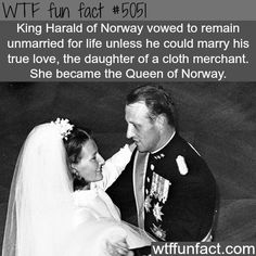 Queen of Norway -  A Fairy Tale's - TRUE LOVE! -WTF awesome  fun facts