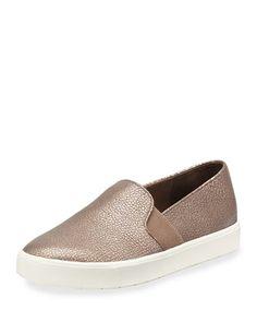 Blair+Metallic+Flat+Platform+Sneaker,+Bronze+by+Vince+at+Neiman+Marcus.