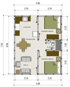 Casa Prefabricada Venecia - Multiblocks
