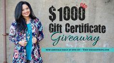 $1000 Gift Certifica