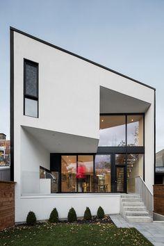 Maison 1ère Avenue de Microclimat : s'ouvrir à la lumière - Index-Design.ca