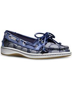 COACH RICHELLE BOAT SHOE - Coach Shoes - Handbags & Accessories - Macy's