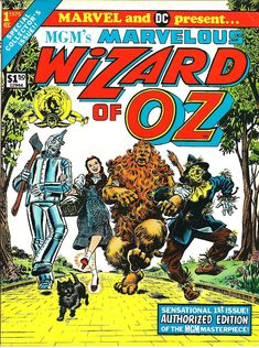 Dc Comic Books, Comic Book Covers, Comic Art, Land Of Oz, Yellow Brick Road, Wicked Witch, Urban Legends, Marvel Dc Comics, Wizard Of Oz