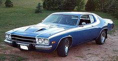 1973 Plymouth Roadrunner My first new car only mine had white interior.