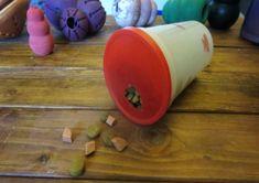 Dog Treat Puzzles, Dog Puzzles, Smart Dog Toys, Diy Dog Toys, Pet Toys, Diy Puzzle Toys For Dogs, Brain Games For Dogs, Dog Games, Dog Training Methods