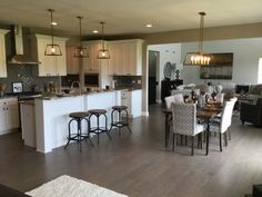 New Decorated Model, The Windsor, Now Open and Available!   Crown Highland WoodsCrown Highland Woods