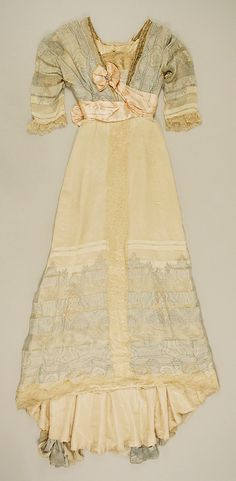 Dress, Evening  House of Worth (French, 1858–1956)  Date: ca. 1911