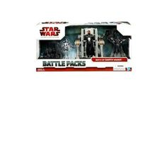 """Star Wars 3.75"""" Battle Pack Asst - Birth of Darth Vader. Set of 3 detailed figures includes Darth Vader, 2-1B and Galactic Chopper figures with accessories. Just perfect for acting out scenes from your favorite film saga. Bring the battles to life with this awesome action figure three-pack. Reenact scenes from the thrilling movie saga with your Darth Vader, 2-1B and Galactic Chopper figures. These three make for exciting characters even when they're just standing at attention in your..."""