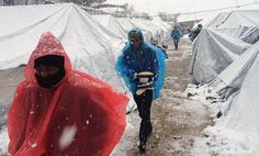 Stop refugees freezing to death in Greece | Amnesty International UK