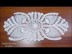 Como Tejer Carpeta o Centro de Mesa a crochet paso a paso DIY 1/3 - YouTube