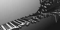 Easy to create this with Structure Synth. Computer Music, Keys, Stairs, Create, Home Decor, Stairway, Decoration Home, Room Decor, Key