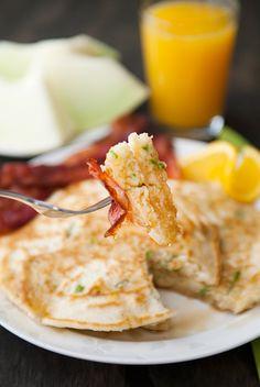 Green Onion Buttermilk Pancakes