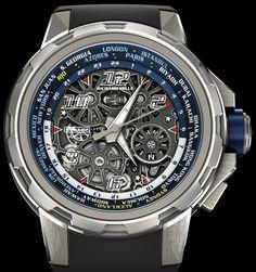 Đánh giá mẫu đồng hồ Richard Mille RM 63-02 World Timer Automatic