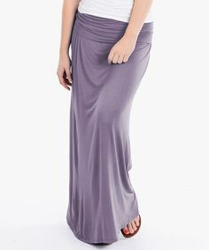 Another great find on #zulily! Lilac Maxi Skirt #zulilyfinds