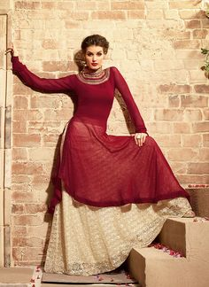You can be sure to make a effective fashion statement with this Brick Red Georgette Anarkali Suit. The lovely Resham & Butta Work work a substantial attribute of this attire. Buy Online Exclusive Designer Anarkali Suit, Wedding Wear, Party Wear, Anarkalisuit, dress material, Ceremonial Wear, Anarkalisuits, Anarkali, Indian Suit, Suits, Shuits For women. We have large range of Designer Anarkali designsOnline in our website with the best pricing and unique designs shipping to World Wide.