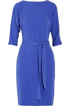 Diane von FurstenbergMaja belted silk dress(great colour)