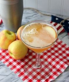 """The Real Deal"" Appletini  