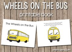 Wheels on the Bus song book