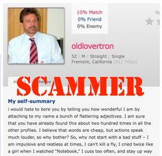 dating site scammers photos