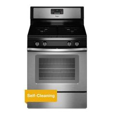 Whirlpool 5.0 cu. ft. Gas Range with Self-Cleaning Oven in Stainless Steel - WFG515S0ES - The Home Depot