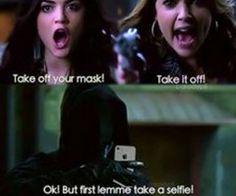 Let me take a selfie ! #PLL