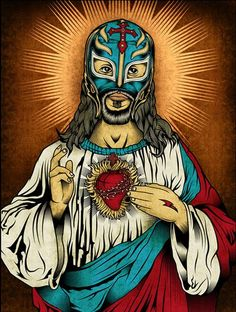 Christos Mysterio Jr. Our Lady Of Lucha Libre