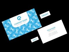 How To Create A Colorful Business Card Template In Illustrator CS - Adobe illustrator business card template
