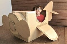Crafts for children from cardboard boxes   Picturescrafts.com