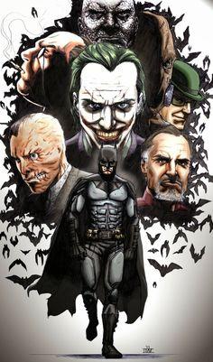 Batman by Ibrahim Moustafa