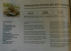 Herzhafter Pfifferling-Käse-Kuchen