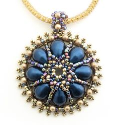 Dome-of-pearls pendant