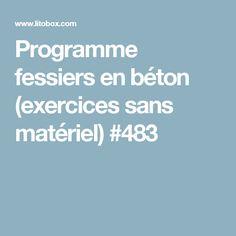 Programme fessiers en béton (exercices sans matériel) #483