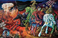 Apocalipsis Berni – Ariel M Comic Books, Comics, Painting, Ariel, Google, Paint Samples, Visionary Art, Apocalypse, Artists
