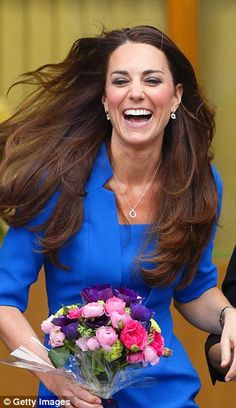 Kate Middleton - a real laugh is contageous