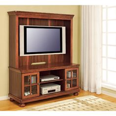 Bedford Ebony TV Stand for TVs up to 55 TV stand possibilities