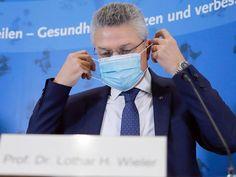 Lothar Wieler, Leiter des deutschen Robert-Koch-Instituts (RKI). Wuhan, Focus Online, Smart Watch, Corona, Television Tv, Health Department, Politics, Smartwatch