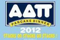 Throwing a Pancake dinner for Philanthropy? This is the perfect Alpha Delta Pi tee.