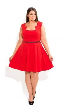 Annie the Musical - Stud Belt Skater Dress