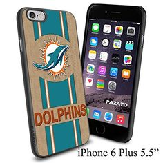 """NFL MIAMI DOLPHINS , Cool iPhone 6 Plus (6+ , 5.5"""") Smartphone Case Cover Collector iphone TPU Rubber Case Black Phoneaholic http://www.amazon.com/dp/B00VWG7KH2/ref=cm_sw_r_pi_dp_p0Lnvb1Z9ZV38"""