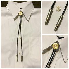 Shotgun Shell Bolo Tie Men's Bullet Bolo Tie 12 by Katiegotagun