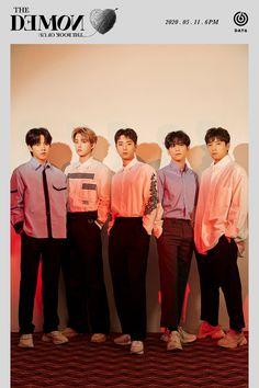 <The Book of Us : The Demon> Group Teaser Image Fandom, Warner Music, Jae Day6, Day6 Dowoon, Young K, Kpop Posters, Korean Boy, Korean Bands, Handsome Boys